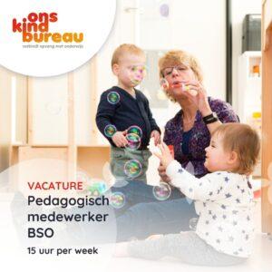 Pedagogisch medewerker BSO 10-20 uur KC De Sprong